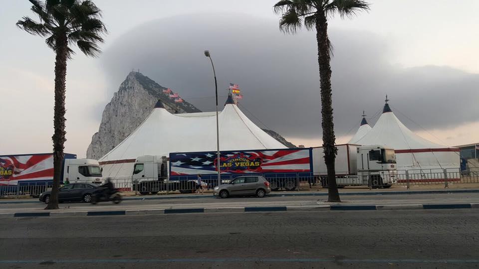 Circo las Vegas en la línea