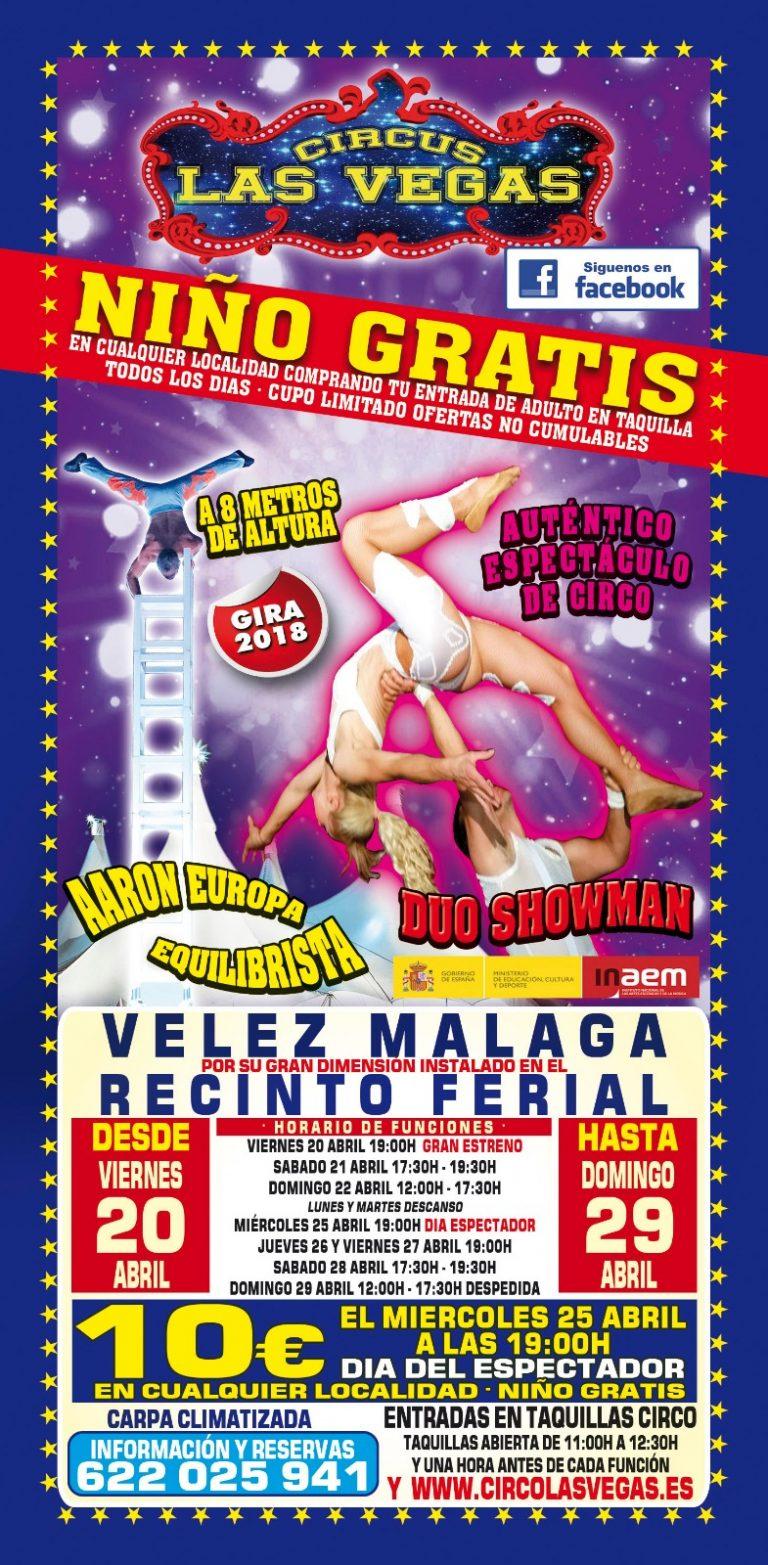 Circus las Vegas, Velez Málaga