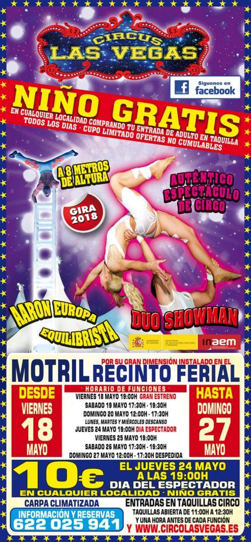 Circus las Vegas en Motril