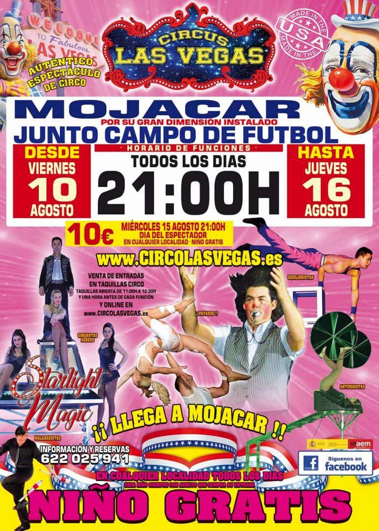 Circus las Vegas Mojacar