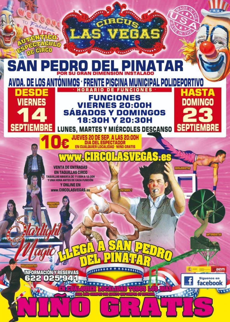 Circus las Vegas, San Pedro del Pinatar