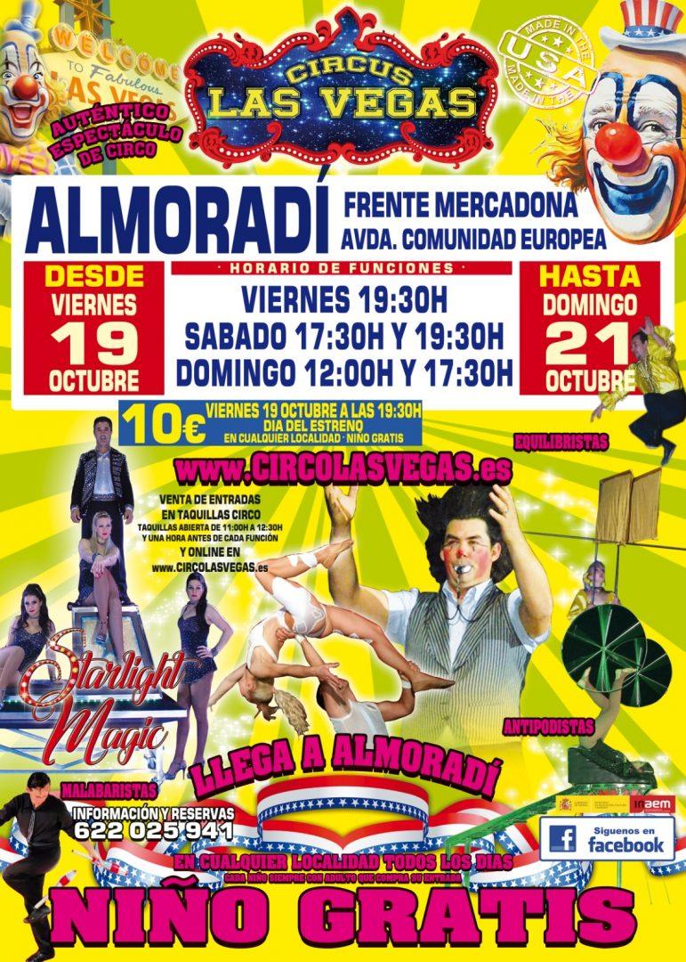 Circus las Vegas llega a Almoradí