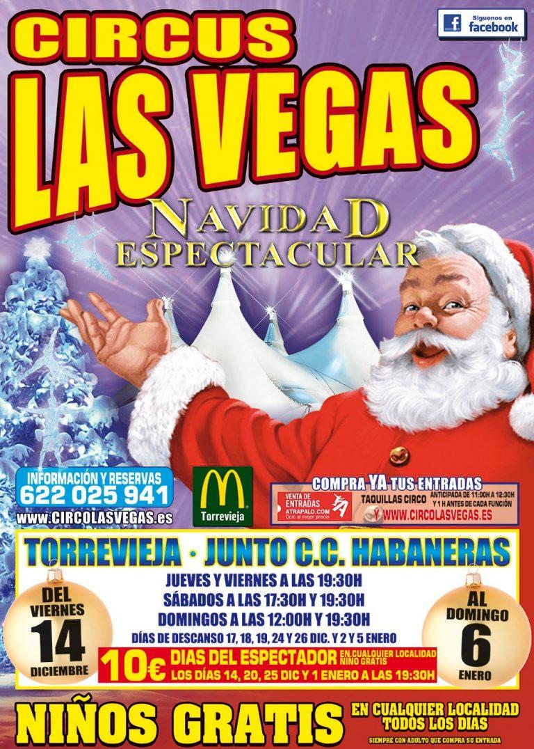 Circus Las vegas pasará la navidad en Torrevieja