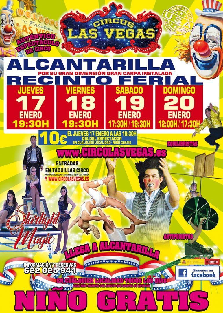 Circus las Vegas en Alcantarilla