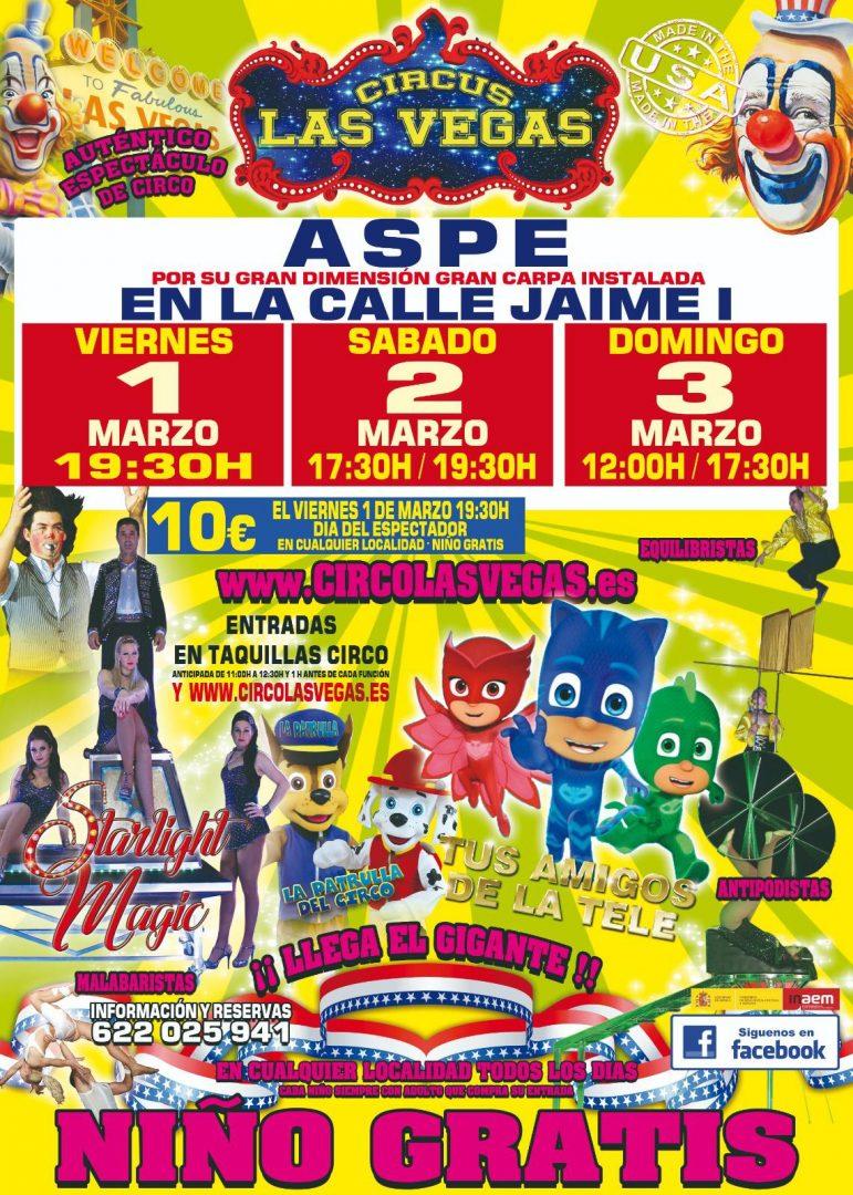 Aspe Circo Las Vegas