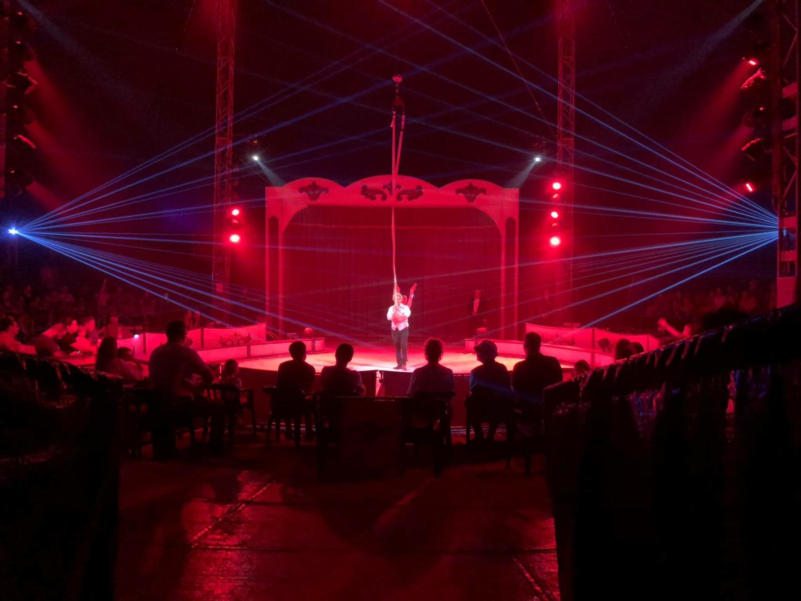 Interior Circo las Vegas