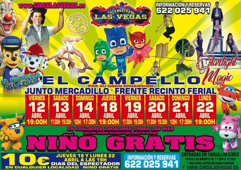 Circus las Vegas llega a El Campello