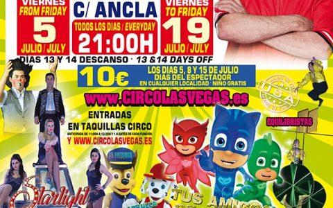 Circus las Vegas llega a TORRE DE LA HORADADA