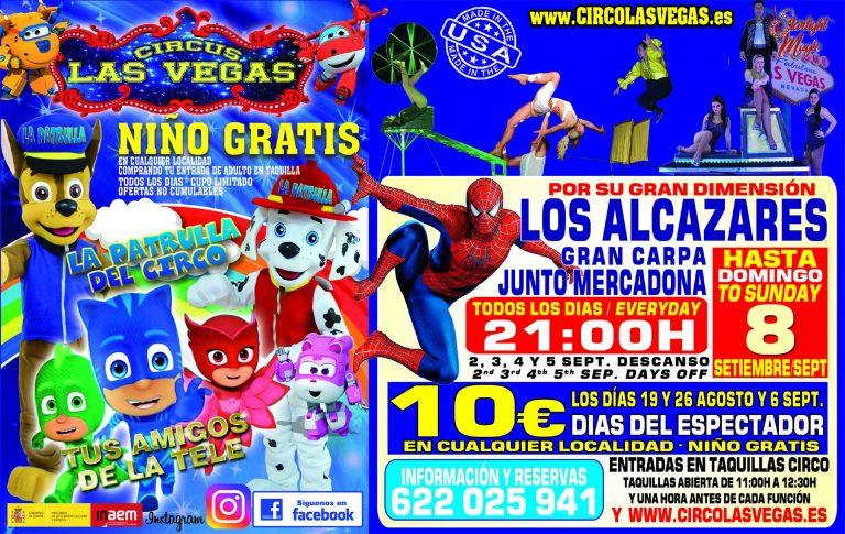 Circus Las Vegas llega a Los Alcázares