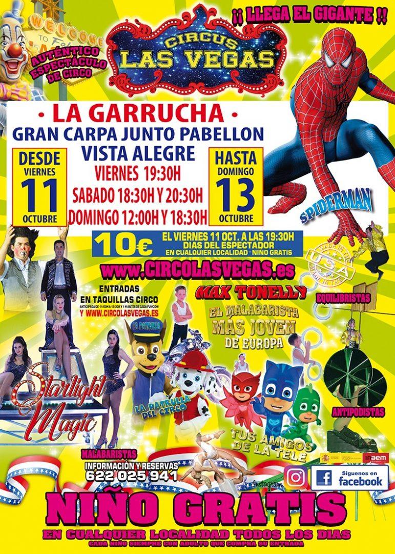 Circo las Vegas en La Garrucha