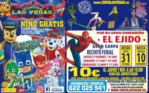 Circus las Vegas llega a El Ejido