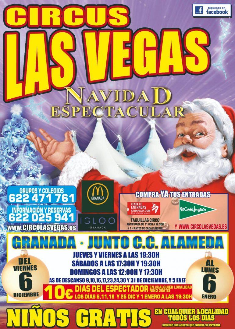 Circus Las Vegas en Granada
