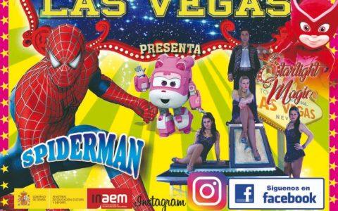 Por primera vez Circo Las Vegas en Linares!!