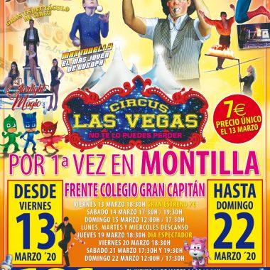 Circus las Vegas en MONTILLA
