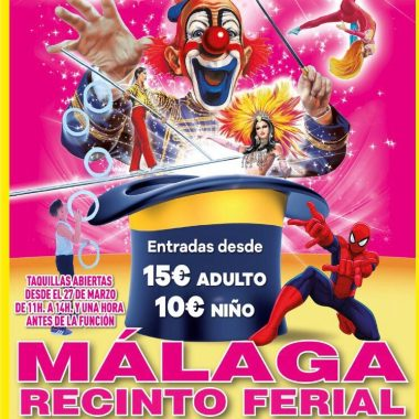 Circus Las Vegas presenta su nuevo expectáculo en Málaga